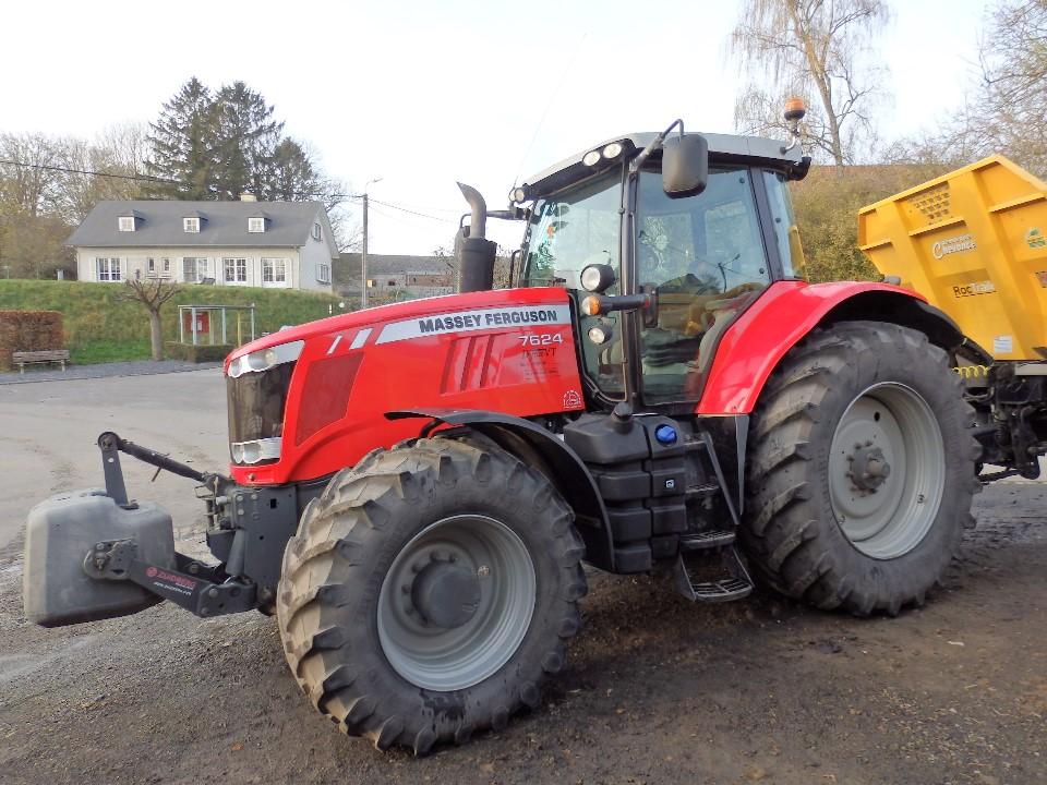 Tracteur MASSEY FERGUSON 7624 Dyna VT Efficience Pdf Av