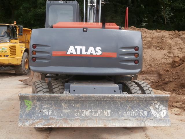 Pelle ATLAS 160 W GV déport Ecoénergie