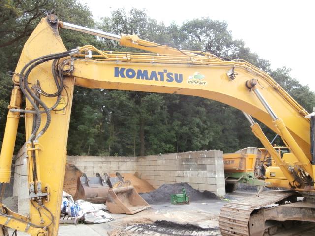 KOMATSU-PC350LC